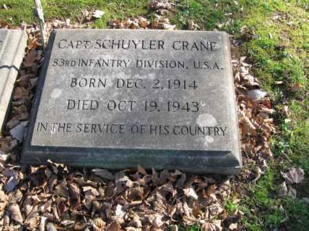 CRANE (WW II), SCHUYLER - Northampton County, Pennsylvania | SCHUYLER CRANE (WW II) - Pennsylvania Gravestone Photos