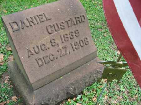 CUSTARD (CW), DANIEL H. - Northampton County, Pennsylvania | DANIEL H. CUSTARD (CW) - Pennsylvania Gravestone Photos