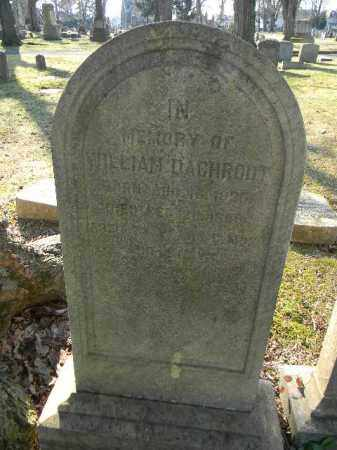 DAGHRUT, WILLIAM - Northampton County, Pennsylvania | WILLIAM DAGHRUT - Pennsylvania Gravestone Photos