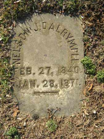 DALRYMPLE, NELSON J. - Northampton County, Pennsylvania   NELSON J. DALRYMPLE - Pennsylvania Gravestone Photos