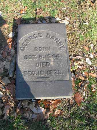 DANBY, GEORGE - Northampton County, Pennsylvania | GEORGE DANBY - Pennsylvania Gravestone Photos
