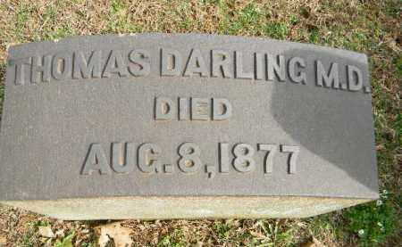 DARLING, M.D., THOMAS - Northampton County, Pennsylvania | THOMAS DARLING, M.D. - Pennsylvania Gravestone Photos