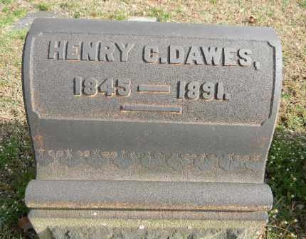 DAWES, HENRY C. - Northampton County, Pennsylvania | HENRY C. DAWES - Pennsylvania Gravestone Photos