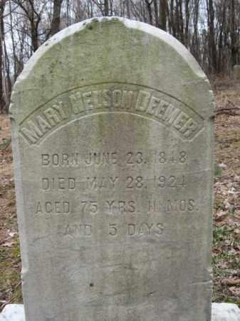 DEEMER, MARY NELSON - Northampton County, Pennsylvania | MARY NELSON DEEMER - Pennsylvania Gravestone Photos