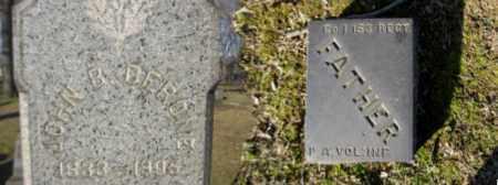DERONE (CW), JOHN B. - Northampton County, Pennsylvania | JOHN B. DERONE (CW) - Pennsylvania Gravestone Photos