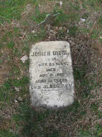DIEHL, JOHN H. - Northampton County, Pennsylvania | JOHN H. DIEHL - Pennsylvania Gravestone Photos