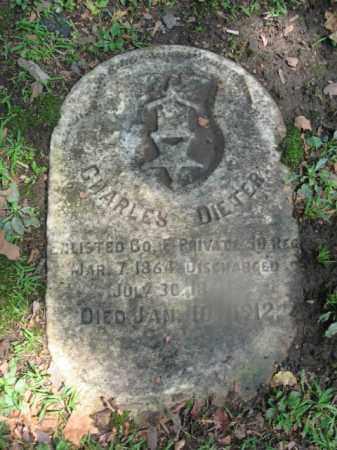 DIETER, CHARLES - Northampton County, Pennsylvania   CHARLES DIETER - Pennsylvania Gravestone Photos