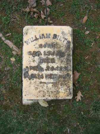 DILTZ (DILTS) (CW), WILLIAM - Northampton County, Pennsylvania | WILLIAM DILTZ (DILTS) (CW) - Pennsylvania Gravestone Photos