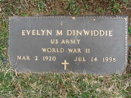 DINWIDDIE, EVELYN M. - Northampton County, Pennsylvania | EVELYN M. DINWIDDIE - Pennsylvania Gravestone Photos