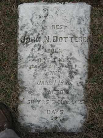 DOTTERER  (CW), PVT.JOHN N. - Northampton County, Pennsylvania   PVT.JOHN N. DOTTERER  (CW) - Pennsylvania Gravestone Photos