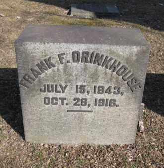 DRINKHOUSE, FRANK F. - Northampton County, Pennsylvania | FRANK F. DRINKHOUSE - Pennsylvania Gravestone Photos