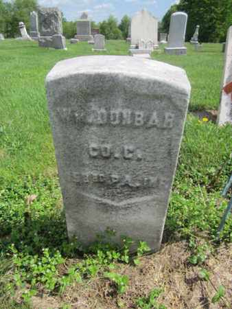 DUNBAR (CW), WILLIAM H. - Northampton County, Pennsylvania | WILLIAM H. DUNBAR (CW) - Pennsylvania Gravestone Photos