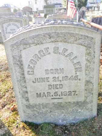 EALER, GEORGE S. - Northampton County, Pennsylvania | GEORGE S. EALER - Pennsylvania Gravestone Photos