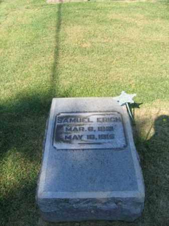 ERICH (CW), SAMUEL - Northampton County, Pennsylvania | SAMUEL ERICH (CW) - Pennsylvania Gravestone Photos