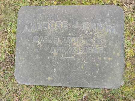 ERWIN (CW), AMBROSE J. - Northampton County, Pennsylvania | AMBROSE J. ERWIN (CW) - Pennsylvania Gravestone Photos
