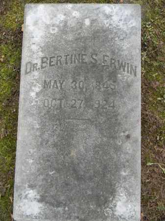 ERWIN, DR. BERTINE S. - Northampton County, Pennsylvania | DR. BERTINE S. ERWIN - Pennsylvania Gravestone Photos