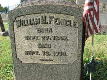 FENICLE (CW), WILLIAM H. - Northampton County, Pennsylvania | WILLIAM H. FENICLE (CW) - Pennsylvania Gravestone Photos