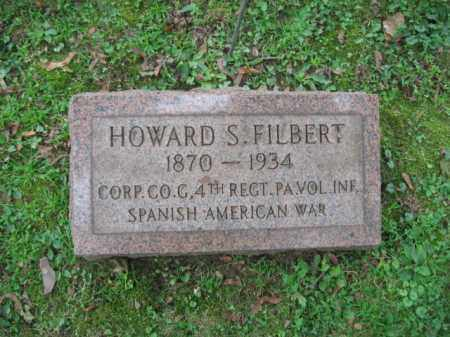 FILBERT, HOWARD S. - Northampton County, Pennsylvania | HOWARD S. FILBERT - Pennsylvania Gravestone Photos