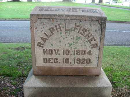 FISHER, RALPH L. - Northampton County, Pennsylvania | RALPH L. FISHER - Pennsylvania Gravestone Photos