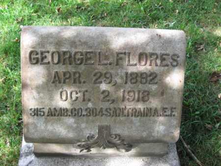 FLORES, GEORGE L. - Northampton County, Pennsylvania | GEORGE L. FLORES - Pennsylvania Gravestone Photos