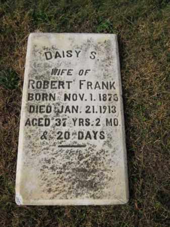 FRANK, DAISY S. - Northampton County, Pennsylvania   DAISY S. FRANK - Pennsylvania Gravestone Photos
