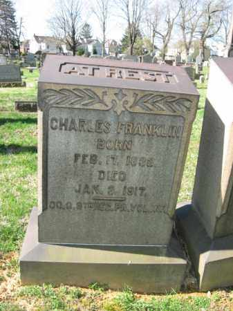 FRANKLIN, CHARLES - Northampton County, Pennsylvania | CHARLES FRANKLIN - Pennsylvania Gravestone Photos