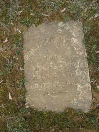 FREDERICK, PHILIP - Northampton County, Pennsylvania   PHILIP FREDERICK - Pennsylvania Gravestone Photos