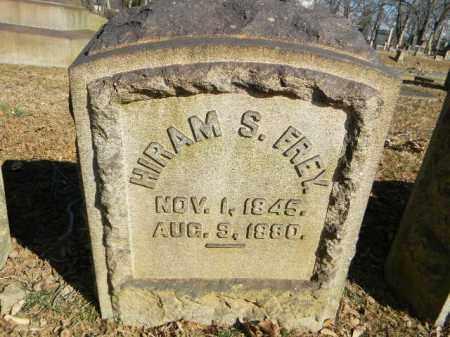 FREY, HIRAM S. - Northampton County, Pennsylvania | HIRAM S. FREY - Pennsylvania Gravestone Photos