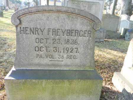 FREYBERGER (CW), HENRY - Northampton County, Pennsylvania   HENRY FREYBERGER (CW) - Pennsylvania Gravestone Photos