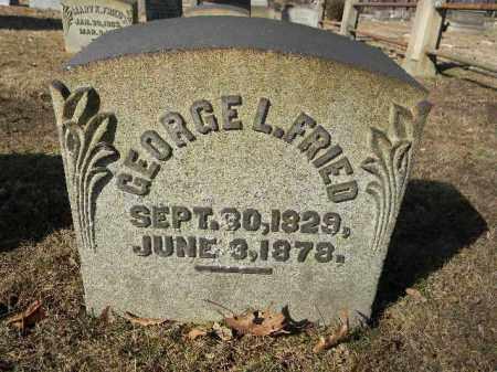 FRIED (CW), GEORGE L. - Northampton County, Pennsylvania | GEORGE L. FRIED (CW) - Pennsylvania Gravestone Photos