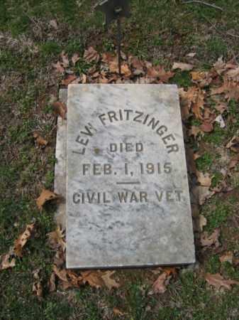 FRITZINGER (CW), LEVI - Northampton County, Pennsylvania | LEVI FRITZINGER (CW) - Pennsylvania Gravestone Photos