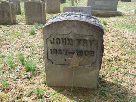 FRY, JOHN - Northampton County, Pennsylvania | JOHN FRY - Pennsylvania Gravestone Photos