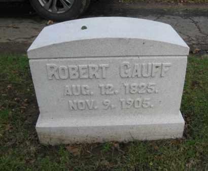 GAUFF, ROBERT - Northampton County, Pennsylvania | ROBERT GAUFF - Pennsylvania Gravestone Photos