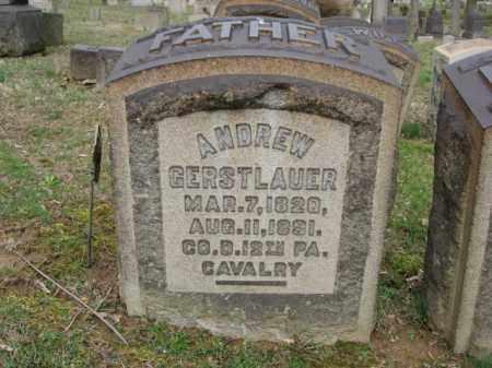 GERSTLAUER, ANDREW - Northampton County, Pennsylvania | ANDREW GERSTLAUER - Pennsylvania Gravestone Photos