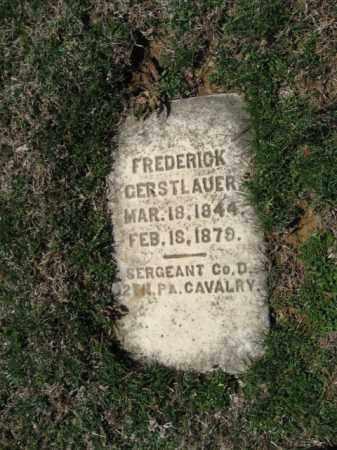 GERSTLAUER, FREDERICK - Northampton County, Pennsylvania   FREDERICK GERSTLAUER - Pennsylvania Gravestone Photos