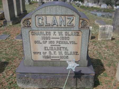 GLANZ (CW), CHARLES F.W. - Northampton County, Pennsylvania | CHARLES F.W. GLANZ (CW) - Pennsylvania Gravestone Photos