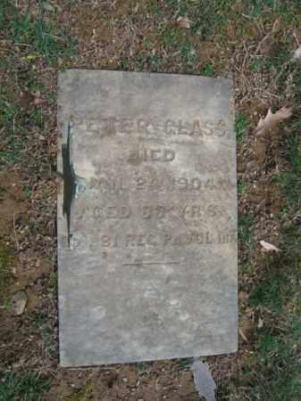 GLASS (CW), PETER - Northampton County, Pennsylvania   PETER GLASS (CW) - Pennsylvania Gravestone Photos