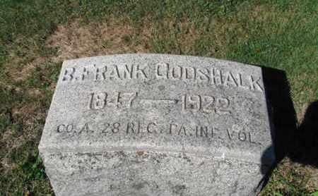 GODSHALK (CW), BENJAMIN FRANK - Northampton County, Pennsylvania   BENJAMIN FRANK GODSHALK (CW) - Pennsylvania Gravestone Photos