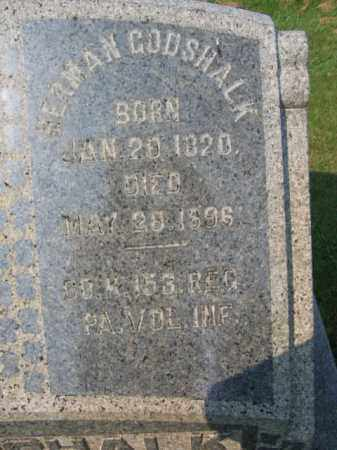GODSHALK (CW), HERMAN - Northampton County, Pennsylvania | HERMAN GODSHALK (CW) - Pennsylvania Gravestone Photos