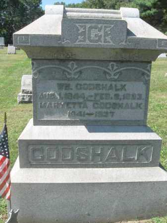 GODSHALK (CW), WILLIAM - Northampton County, Pennsylvania | WILLIAM GODSHALK (CW) - Pennsylvania Gravestone Photos
