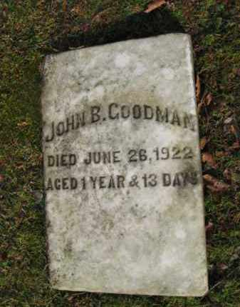 GOODMAN, JOHN B. - Northampton County, Pennsylvania | JOHN B. GOODMAN - Pennsylvania Gravestone Photos