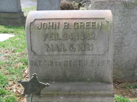 GREEN, JOHN B. - Northampton County, Pennsylvania | JOHN B. GREEN - Pennsylvania Gravestone Photos