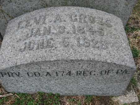 GROSS  (CW), PVT. LEVI A. - Northampton County, Pennsylvania | PVT. LEVI A. GROSS  (CW) - Pennsylvania Gravestone Photos