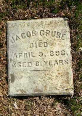 GRUBE, JACOB - Northampton County, Pennsylvania   JACOB GRUBE - Pennsylvania Gravestone Photos