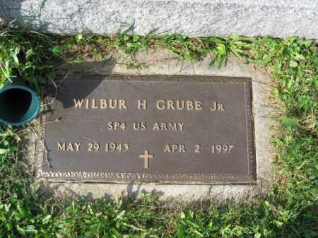 GRUBE,JR., WILBUR H. - Northampton County, Pennsylvania | WILBUR H. GRUBE,JR. - Pennsylvania Gravestone Photos
