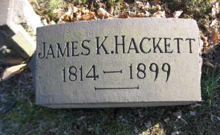 HACKETT, JAMES K. - Northampton County, Pennsylvania   JAMES K. HACKETT - Pennsylvania Gravestone Photos
