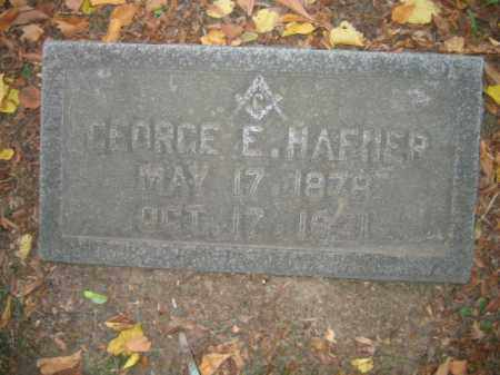 HAFNER, GEORGE E. - Northampton County, Pennsylvania | GEORGE E. HAFNER - Pennsylvania Gravestone Photos