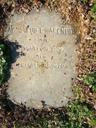 HAGENBUCH (CW), JACOB C. - Northampton County, Pennsylvania | JACOB C. HAGENBUCH (CW) - Pennsylvania Gravestone Photos