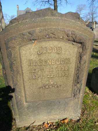 HAGENBUCH, JACOB - Northampton County, Pennsylvania | JACOB HAGENBUCH - Pennsylvania Gravestone Photos