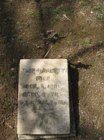 HAGERTY (CW), JOHN - Northampton County, Pennsylvania | JOHN HAGERTY (CW) - Pennsylvania Gravestone Photos